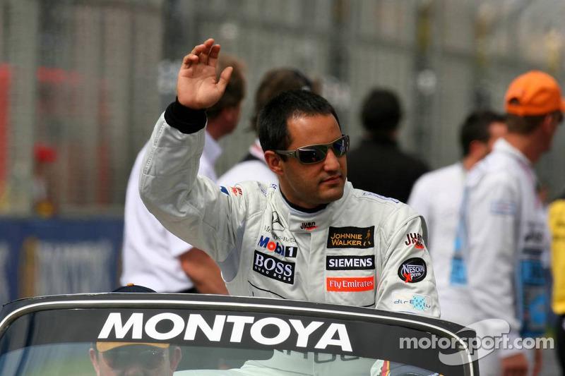 Ppresentación de pilotos: Juan Pablo Montoya
