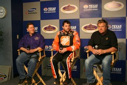Tony Stewart and Steve Kinser Press Conference