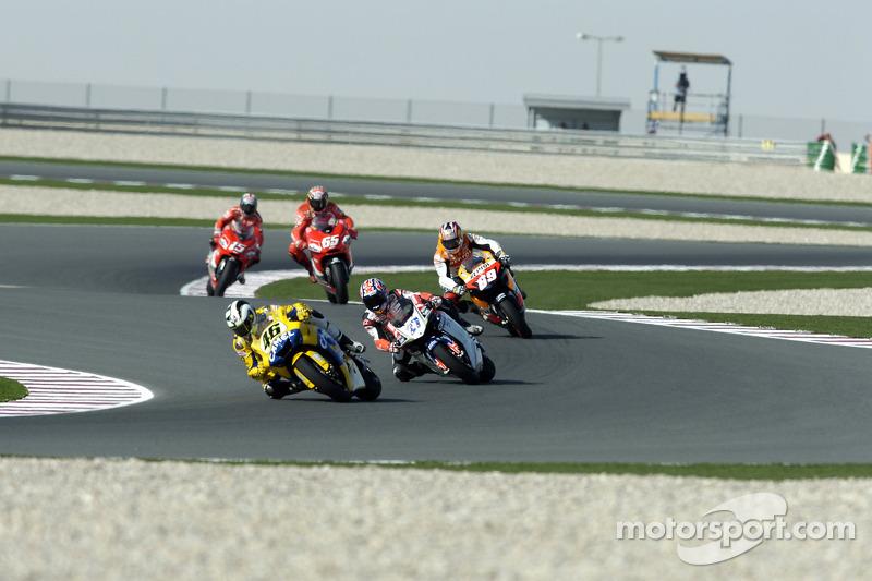 Valentino Rossi líder