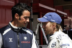 Tony Kolb and Nick Heidfeld