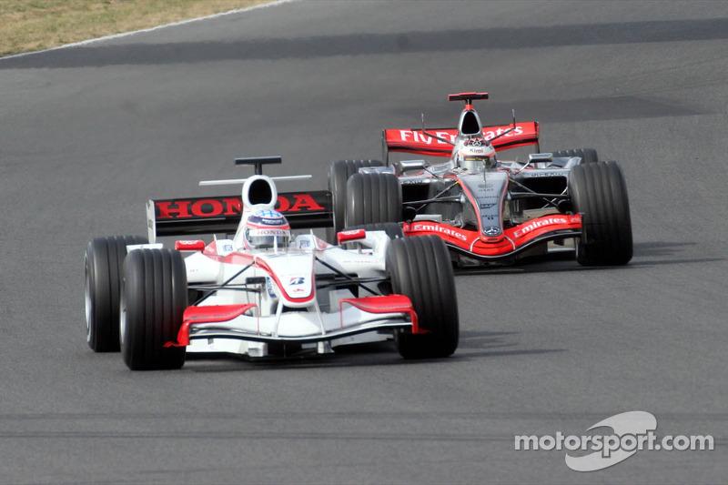 Takuma Sato ve Kimi Raikkonen