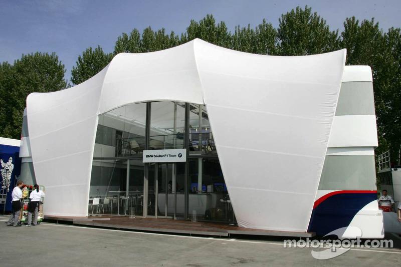 La zone d'hospitalité de BMW