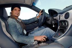 Vitantonio Liuzzi with his new Maserati GranSport