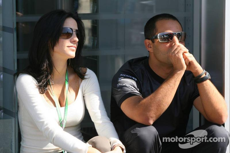 Connie et Juan-Pablo Montoya