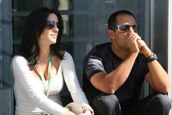 Connie and Juan-Pablo Montoya