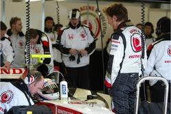 Anthony Davidson and Jenson Button