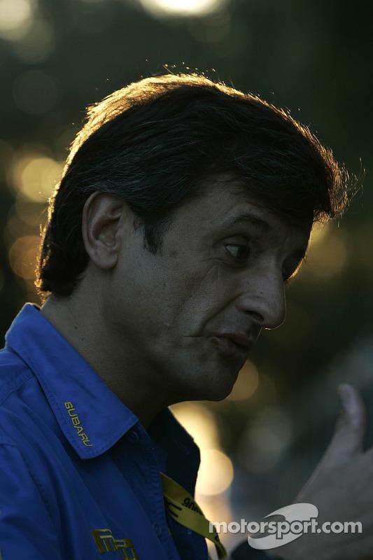 Le directeur sportif de SWRT Luis Moya