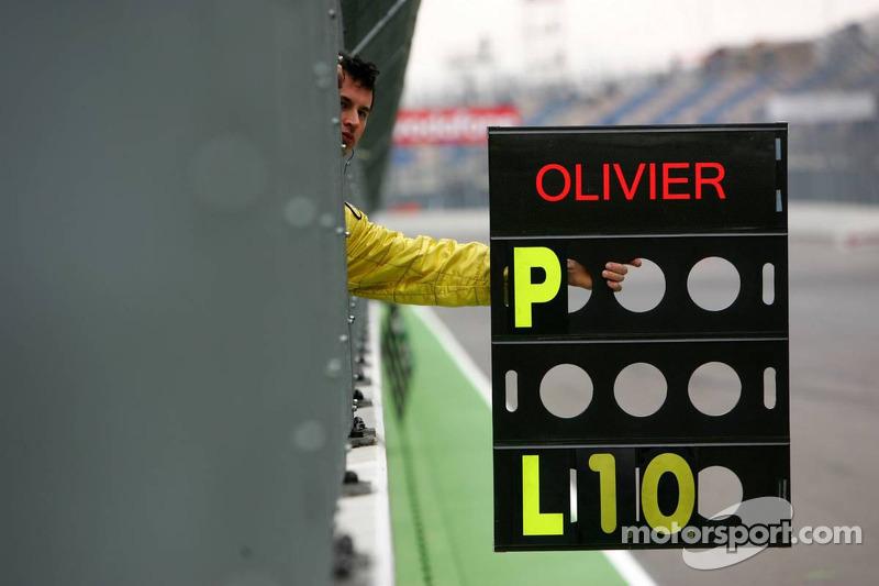 Panneau de piste de Olivier Tielemans