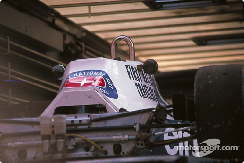 Tyrrell 008 in the truck