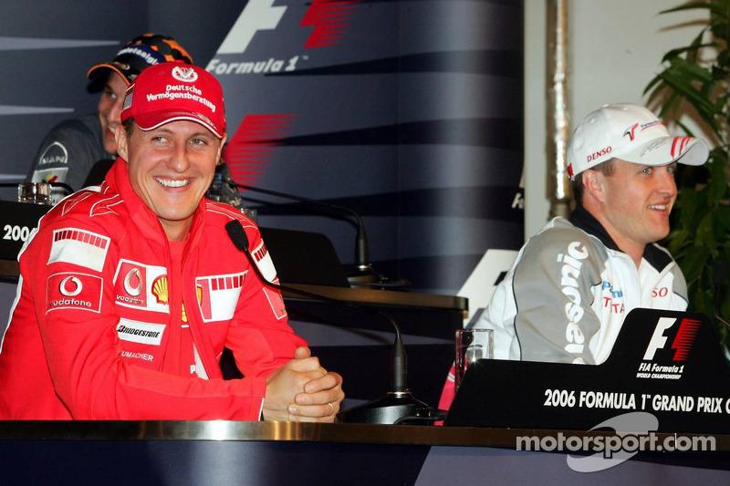 Conférence de presse de la FIA le jeudi: Michael Schumacher et Ralf Schumacher