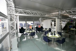 The Red Bull Energy Station on the inside