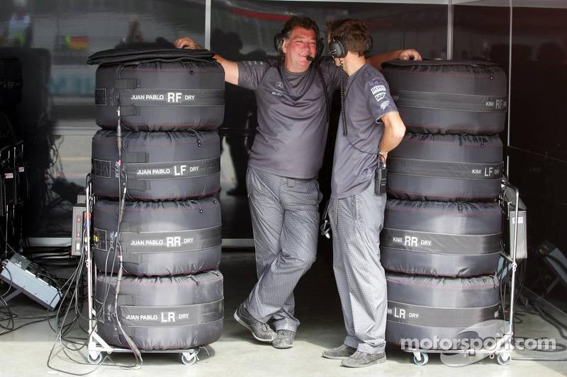 Les nouveaux vêtements de l'équipe McLaren Mercedes