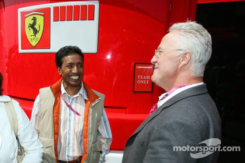 Balbir Singh et Rolf Schumacher