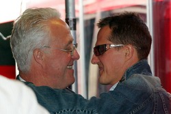 Rolf Schumacher and Michael Schumacher
