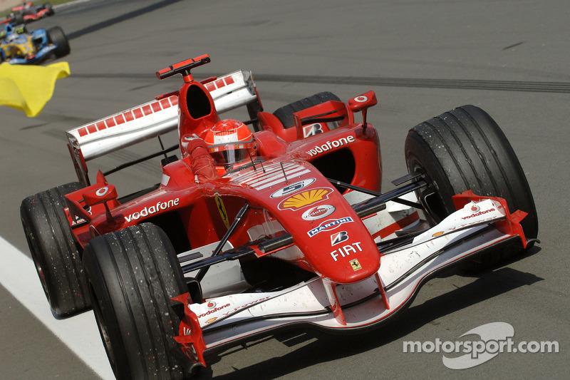 2006 - Nürburgring: Michael Schumacher, Ferrari 248 F1