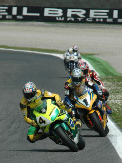 Alex Barros and Troy Corser