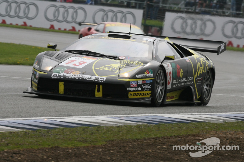 #13 B-Racing RS Line Team Lamborghini Murcielago GT: Benjamin Leuenberger, Norbert Walchhofer, Marin