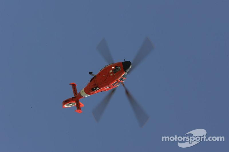Un hélicoptère de la garde côtière