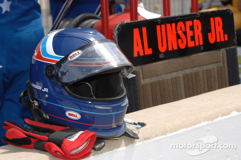 Casque de Al Unser Jr.