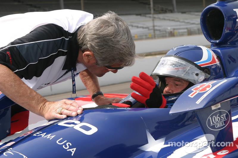 Al Unser Jr. Avec son père Al Unser Sr.