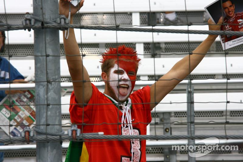 Un fan de Helio Castroneves