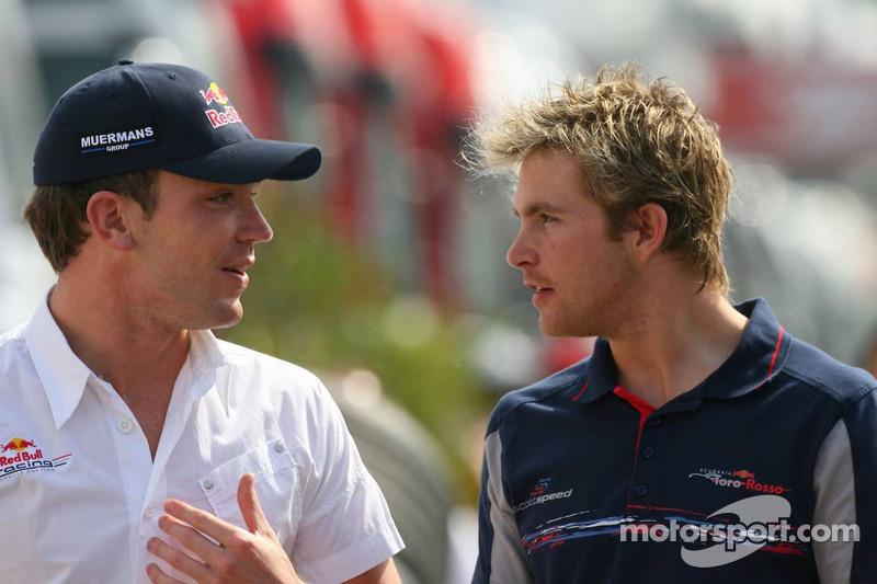 Robert Doornbos avec Scott Speed