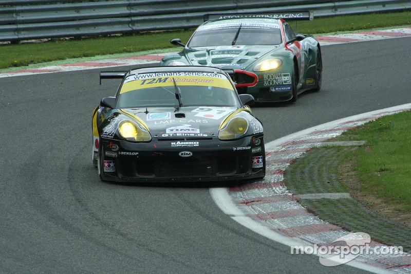 #91 T2M Motorsport Porsche GT3 RSR: Miro Konopka, Yutaka Yamagishi, Tor Graves