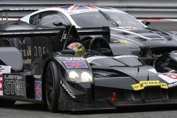 #6 Lister Storm Racing Lister Storm Hybrid: Nicolas Kiesa, Jens Moller, #61 Cirtek Motorsport Aston Martin DBR9: Antonio Garcia in La Source