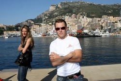 Poseidon Operation: Christian Klien with his girlfriend Franziska in Fontvieille habor