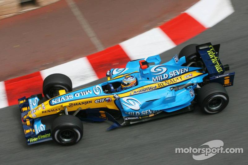 2006: Ganador de la carrera Fernando Alonso (Renault R26)