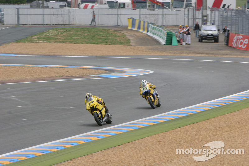 James Ellison et Valentino Rossi