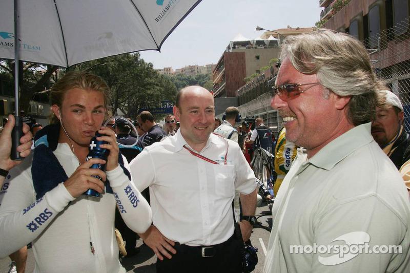 Keke Rosberg y Nico Rosberg