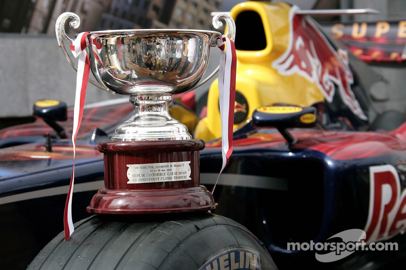El trofeo de David Coulthard