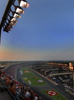 Nose bleed seats at Lowes Motor Speedway
