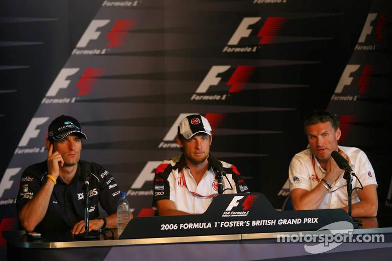 Conferencia de prensa FIA: Mark Webber, Jenson Button, David Coulthard