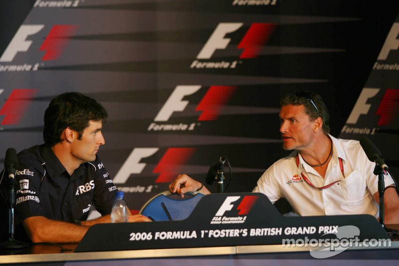Conferencia de prensa FIA: Mark Webber and David Coulthard