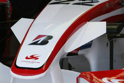 Detail of Super Aguri