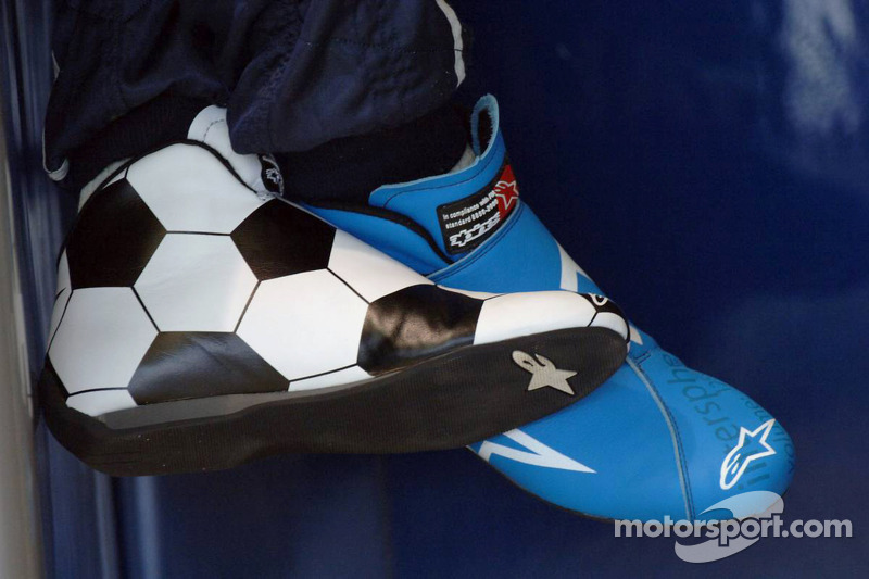 Les chaussures de Vitantonio Liuzzi
