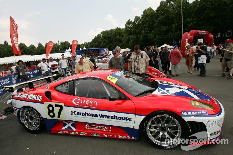 Scuderia Ecosse Ferrari 430 GT à l'assistance