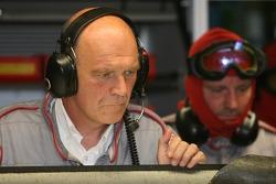 #7 Audi Sport Team Joest Audi R10 in trouble: Dr. Wolfgang Ullrich