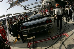 Pitstop for #66 ACEMCO Motorsports Saleen S7R: Terry Borcheller, Johnny Mowlem, Christian Fittipaldi
