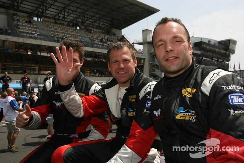 Christian Vann, Tim Sugden et Nigel Smith