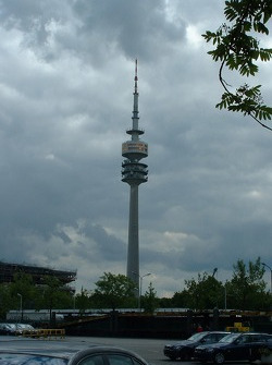 Olympia Park Tower in Munich