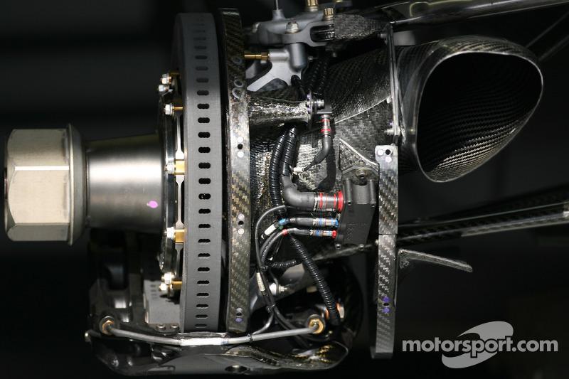 Frein de la McLaren