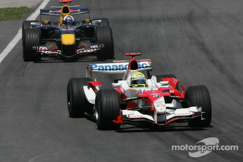 Ralf Schumacher devance David Coulthard