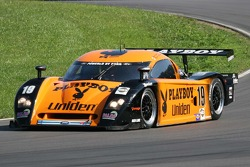 #19 Playboy Uniden Racing Ford Crawford: Memo Gidley, Michael McDowell