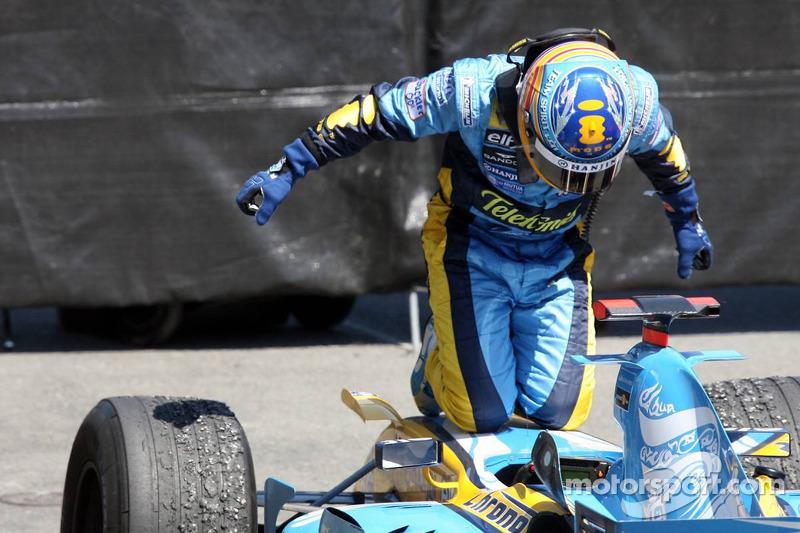 Переможець Фернандо Алонсо, Renault