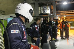 Krohn Racing crew ready for a pitstop