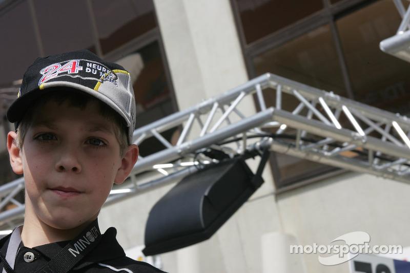 Un jeune fan du Mans