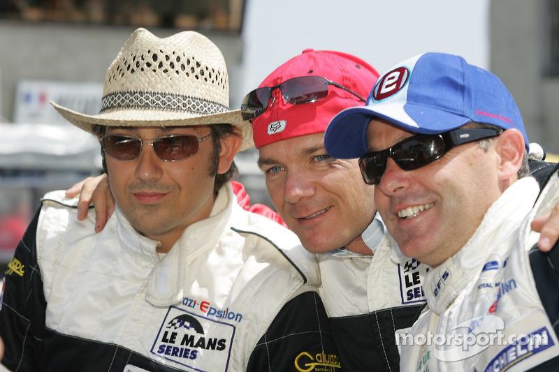 Michael Vergers, Juan Barazi, Neil Cunningham